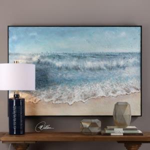 """Rolling Tide - 60.5"""" Landscape Wall Art"""