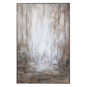 Desert Rain - 61.25 inch Abstract Art