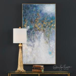 Floating - 52.75 inch Abstract Art