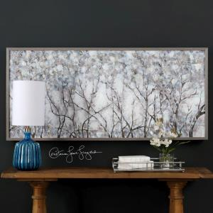 "Canopy of Lights - 72"" Landscape Wall Art"