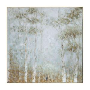 Cotton Woods - 48.75 inch Hand Painted Canvas
