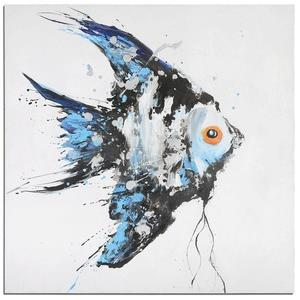 "Blue Angel - 48"" Ocean Fish Wall Art"