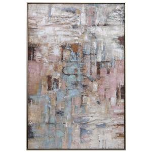 """Morning - 61.25"""" Hand Painted Canvas Art"""