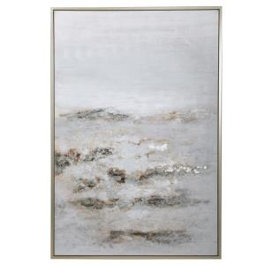 Open Plain - 61.7 inch Abstract Art