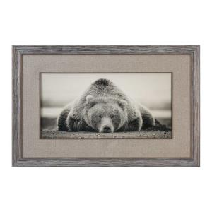 "Deep Sleep - 50.13"" Bear Decorative Wal Art"
