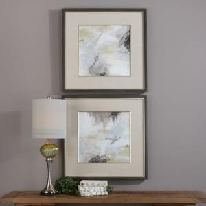 Abstract Vistas - 32.5 inch Framed Print (Set of 2)