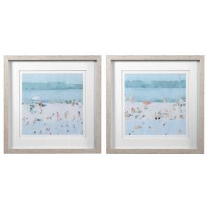 Sea - 30.5 inch Framed Print (Set of 2) - 30.5 inches wide by 2 inches deep