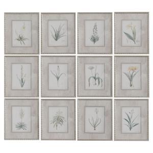"Spring - 19"" Framed Print Art (Set of 12)"