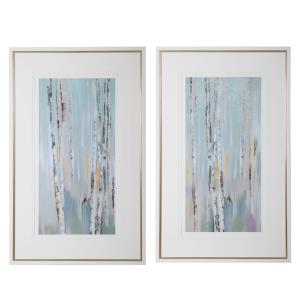 Pandora's Forest - 48.6 inch Abstract Art (Set of 2)