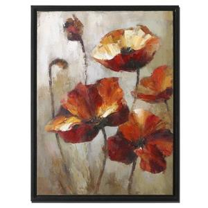 """Window View - 39"""" Floral Wall Art"""