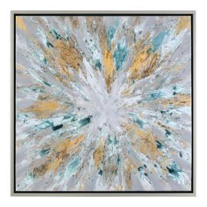 Exploding Star - 39.5 inch Modern Abstract Art
