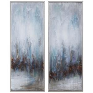 Rainy Days - 32.75 inch Abstract Art (Set of 2)