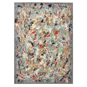 Organized Chaos - 60.75 inch Hand Painted Canvas