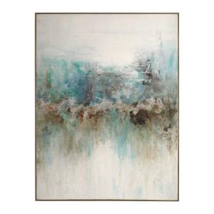 Mountain Top - 48.5 inch Abstract Art