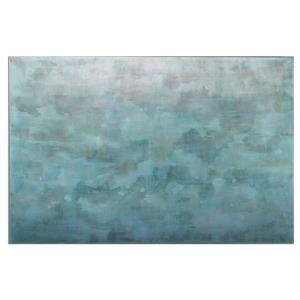 "Frosted Landscape - 60"" Modern Wall Art"