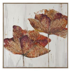 "Golden Accents - 62"" Floral Decorative Wall Art"