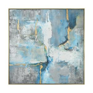 "Meditation - 61"" Modern Art"