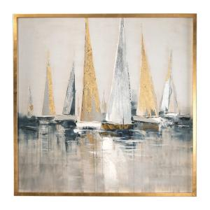 "Regatta - 51.63"" Nautical Wall Art"