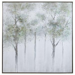 Calm Forest - 51 inch Landscape Art