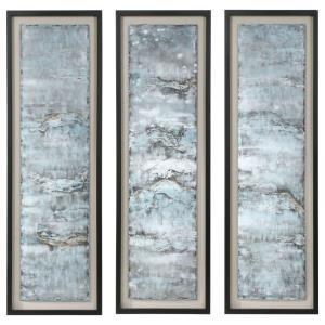 Ocean Swell - 65.7 inch Metal Art (Set of 3)