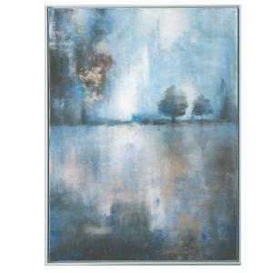 "Lake At Dusk - 41.25"" Landscape Wall Art"