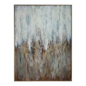 Wave After Wave - 48.75 inch Contemporary Art