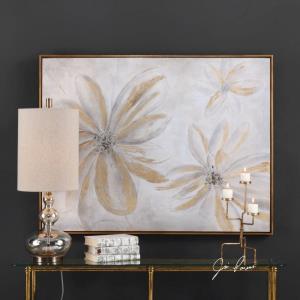 "Daisy Stars - 49"" Floral Wall Art"