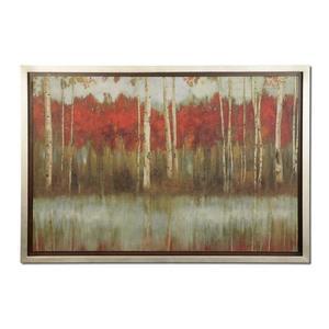The Edge - 39 inch Framed Art