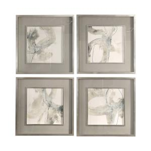 Divination - 25.13 inch Abstract Art (Set of 4)