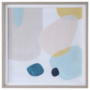 Pink Pebbles II - 40.75 inch Framed Print