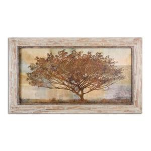 Autumn Radiance Sepia - 31.88 inch Framed Art