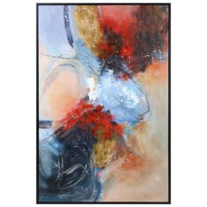 Summer Sunset - 73.5 inch Abstract Art
