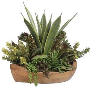 Salar - 22 inch Succulent