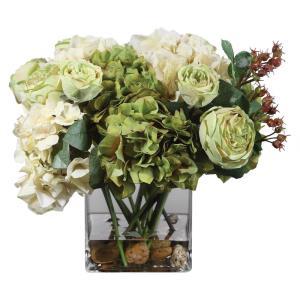 Cecily - 15 inch Hydrangea Bouquet