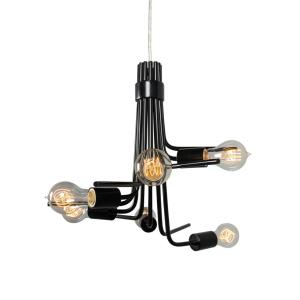 Socket-To-Me - Six Light - Chandelier