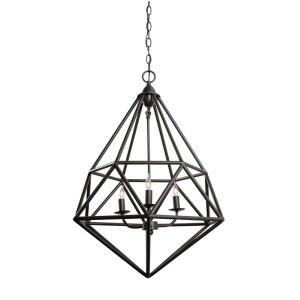 Facet - Three Light Pendant