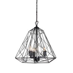 Wright Stuff - Three Light Pendant