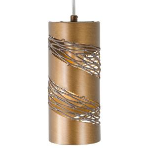 Flow Cylinder - One Light Mini-Pendant