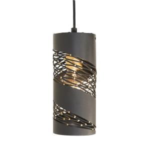 Flow - 1 Light Cylinder Mini Pendant