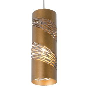 Flow Small Cylinder - One Light Mini-Pendant
