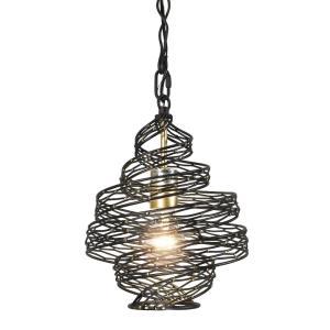 Flow - 1 Light Twist Mini Pendant