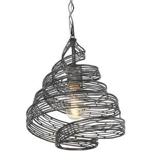 Flow Wrapped - One Light Mini-Pendant