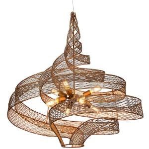 Flow - Eight Light Large Pendant