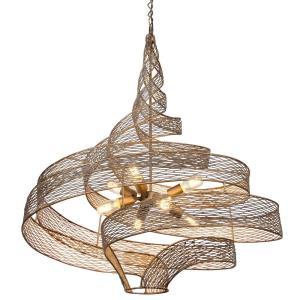 Flow - Eight Light Large Pendant