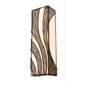 Flow - Three Light Vertical Wall Sconce