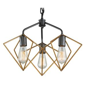 Metropolis - Three Light Pendant