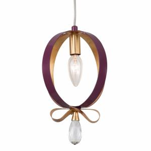 Posh - One Light Round Mini Pendant