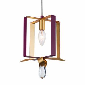 Posh - One Light Square Mini Pendant