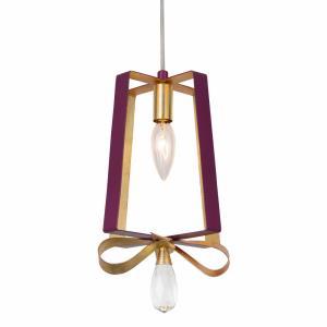 Posh - One Light Tall Mini Pendant