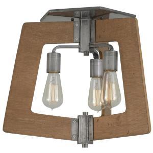 Lofty - Three Light Semi-Flush Mount